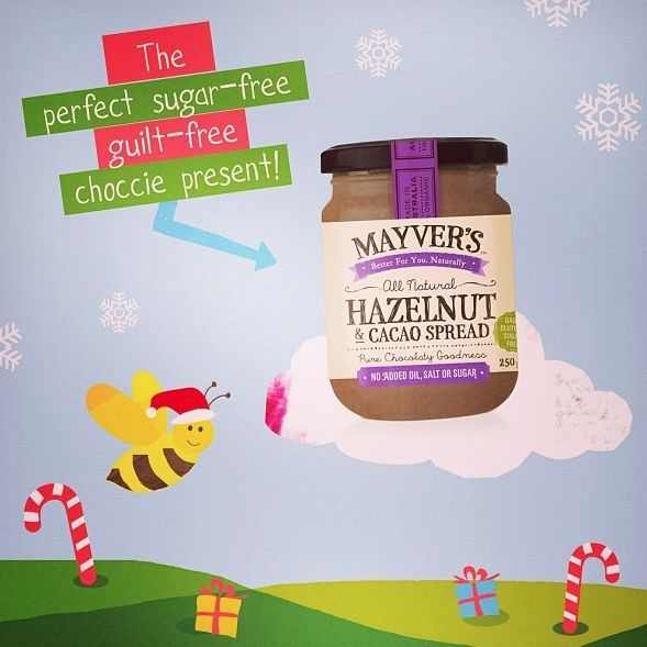 Our purestate hazelnut&cacao spread is the perfect guilt free #sugarfree #chocolate gift for Christmas!! Buy it online here http://www.aussiehealthproducts.com.au/mayvers-health-time.php #purestate #paleodiet #fitfood #fitspo #sugarfreerecipe #healthytreat #cleaneating #iquitsugar #rawfood #rawchocolate #healthychocolate #ilovechocolate #christmas #healthychristmas