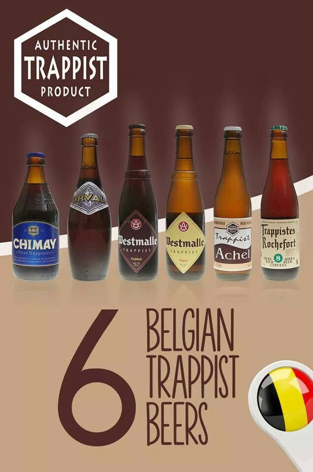 The 6 Belgian Trappist Beers