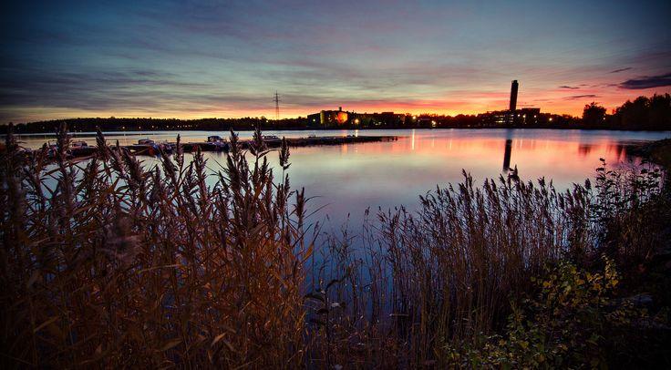 Sunrise over Vaasa