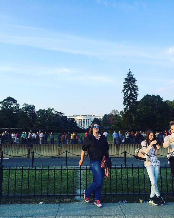 """Ну и вот он белый дом """"темно-зеленого"""" президента #дом#президент#США#отпуск#отдых#прогулка#приключения#деньпятый#NY#Вашингтон by konyfka #WhiteHouse #USA"""