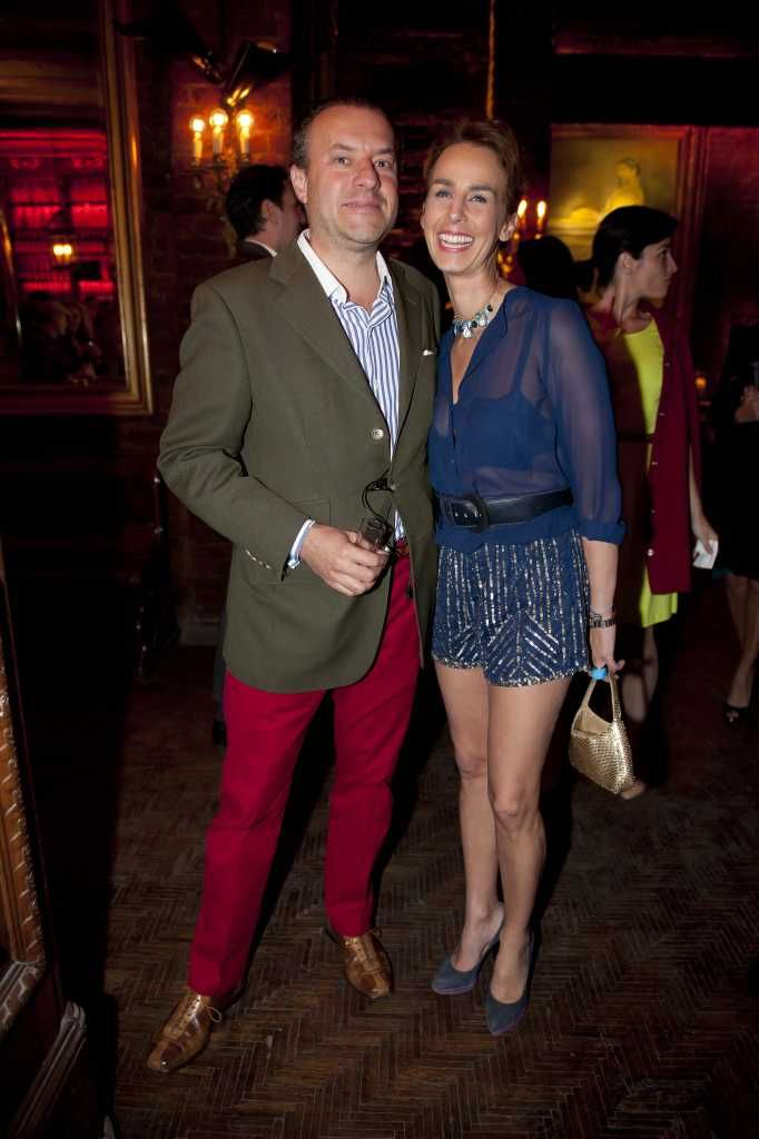 Roberto Slim asiste a la fiesta de la película de Juan Gabriel