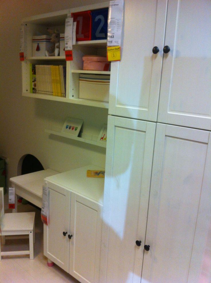Ikea example of white kid 39 s bedroom stuva fab desk - Ikea chambre d enfants ...