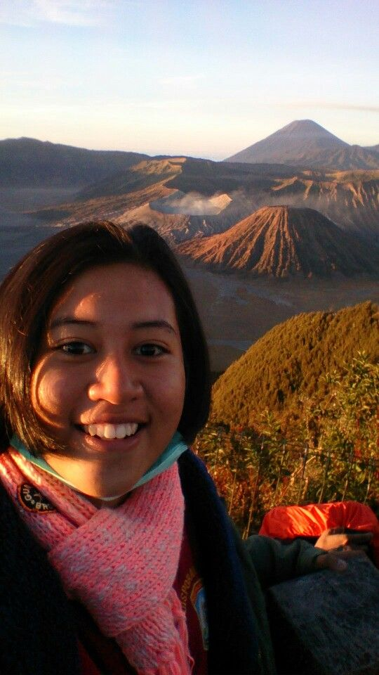 at bromo mountain