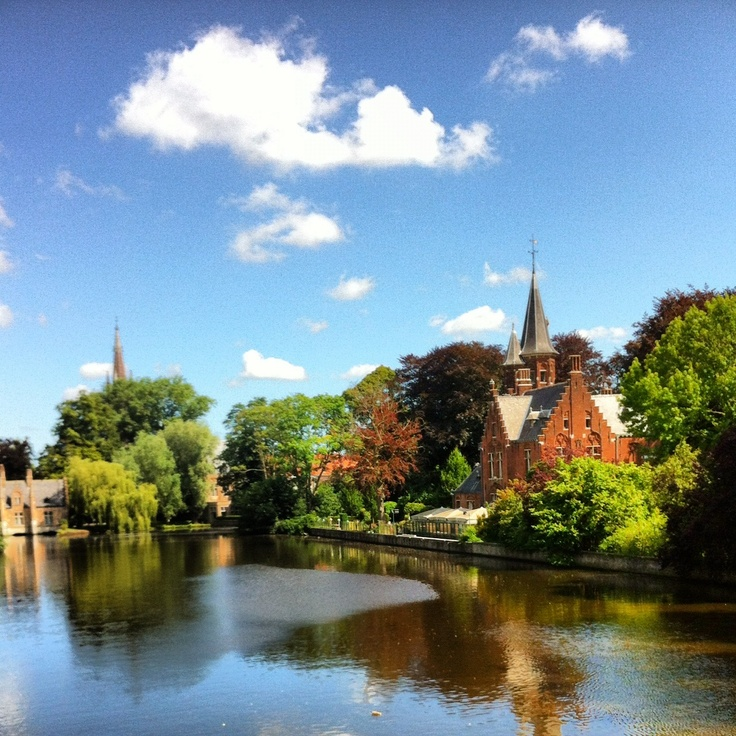 Bruges, Belgium. The Venice of northern Europe.