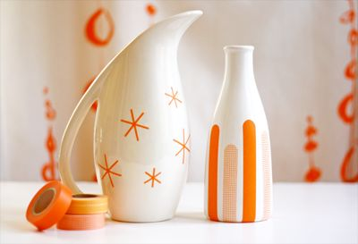 DIY decorating with masking tape | How About Orange