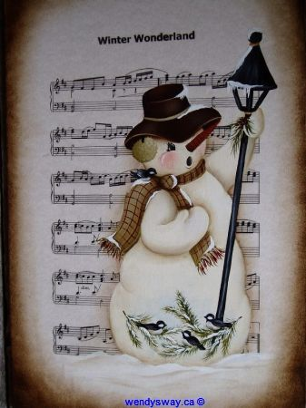 So Sweet! The singing snowman!