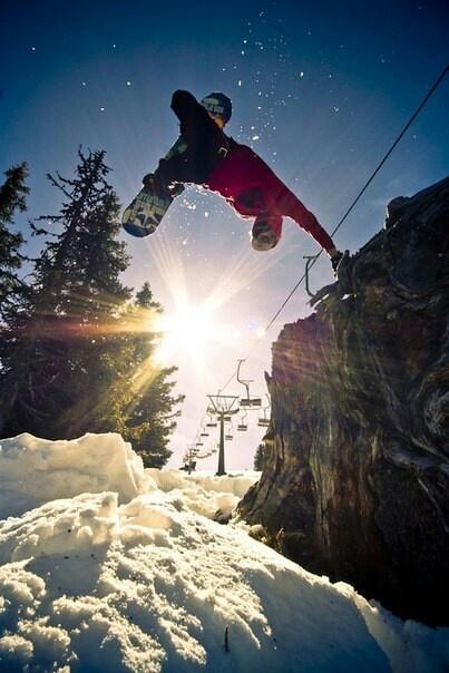 snowboarden doe ik ook en dat vind ik super gaaf