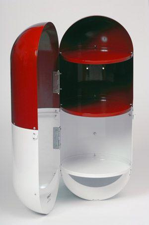 Une armoire à pharmacie design