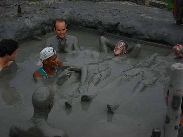 Mud Volcano Totumo Santa Marta, Colombia
