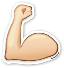 Flexed Biceps   Emoji Stickers