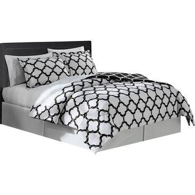 Found it at Wayfair - Droylsden 6 Piece Twin XL Comforter Set