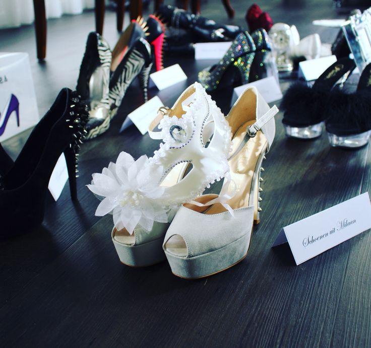 Voorbereiden voor mijn allereerste schoenenexpositie