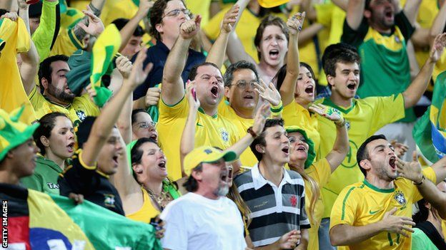 #WorldCup 2014: Brazil set to kick-off tournament