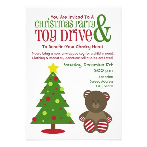 Kids Christmas Parties Donating Toys