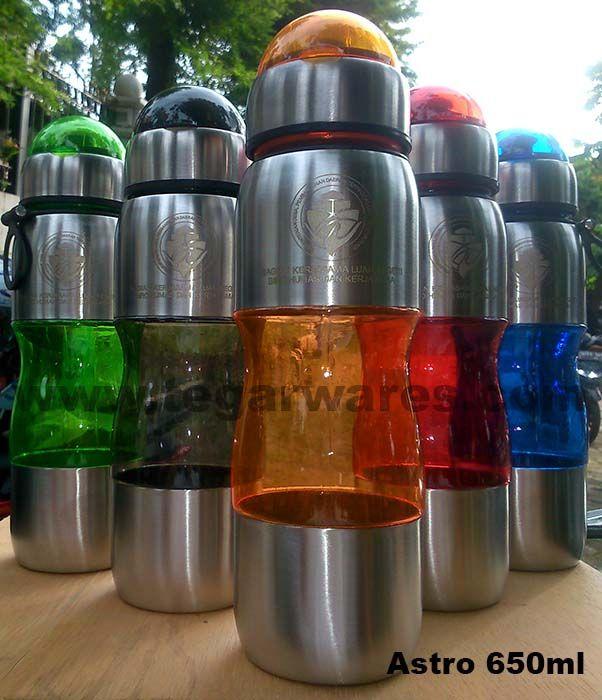 Astro waterbottles capacity 650ml, ordered by Kementerian Desa, Pembangunan Daerah Tertinggal dan Transmigrasi, Jakarta Indonesia