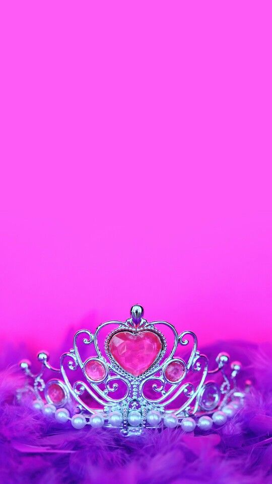 Photo collection princess crown wallpapers for desktop for Pink princess wallpaper