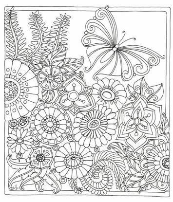 Resultado de imagem para zen coloring pages | Adult coloring ...