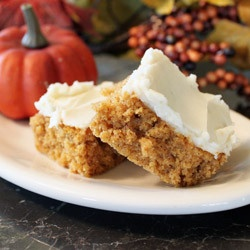 Not So Secret Family RecipesCream Cheese Frostings, S'More Bar, S'Mores Bar, Fall Thanksgiving, Desserts Bar, Moist Pumpkin, Pumpkin Bar, Pumpkin Dessert, Cream Cheeses