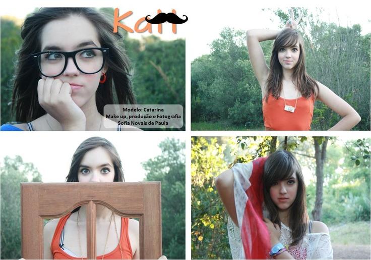 Modelo - Catarina Martins  Make up, produção e fotografia - Sofia Novais de Paula