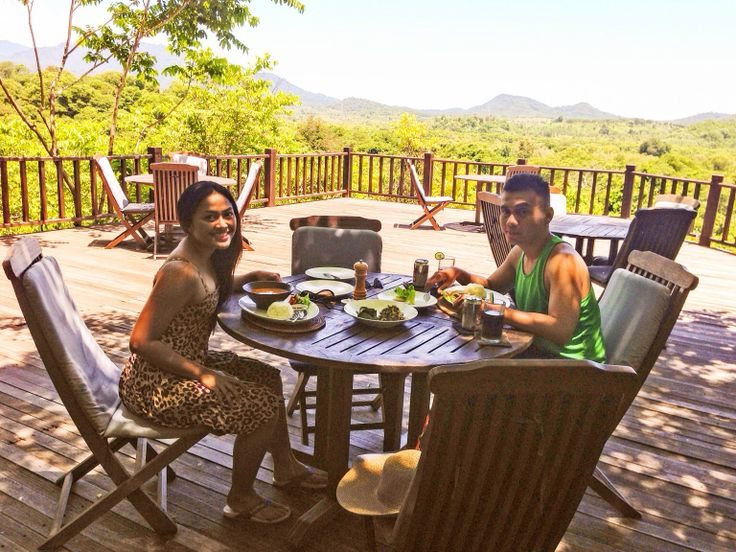 My birthday lunch celebration in unique place that I never been experience before #bali #tower #restaurant #west #bali #national #park