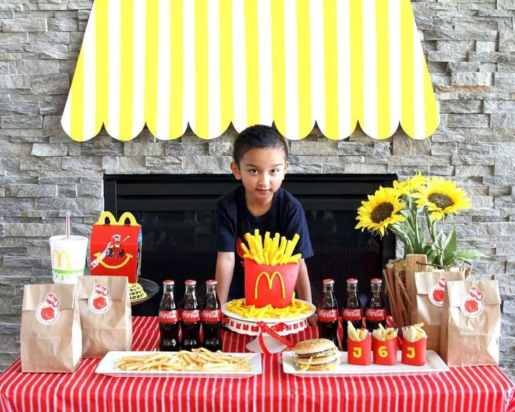 7 best McDonalds Birthday Party Theme images – Mcdonalds Birthday Party Invitations