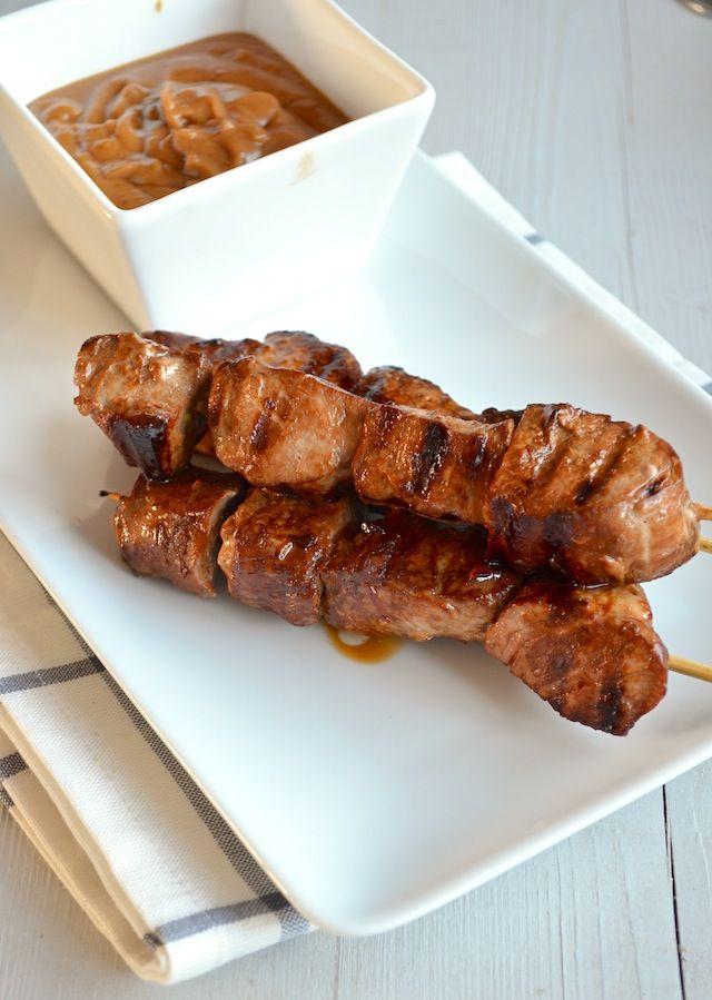 saté babi - Indonesian food #babi #satay #indofood #indonesian #cuisine #travel #bali #Uluwatu #Accommodation #Villa #Travel  www.villaaliagungbali.com