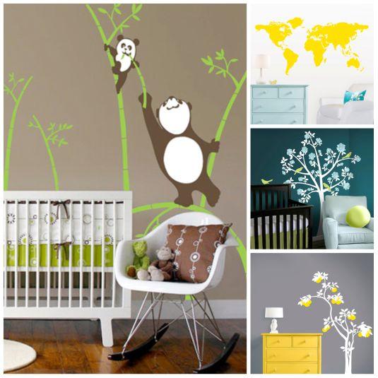 Decor: Decor Ideas, Color, Baby Decor, Pandas Ideas, Wall Decal, Baby Lutzka, Baby Rooms, Aussie