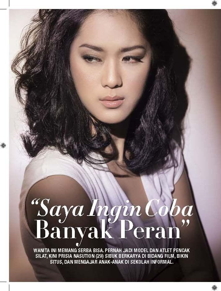Prisia Nasution, actress from Indonesia