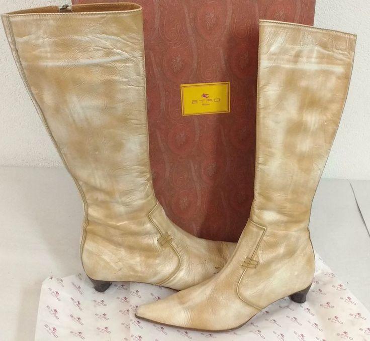 ETRO Milano Designer Damen Stiefel Gr39 NP1490 Euro Boots Damenschuhe Schuhe OVP | Kleidung & Accessoires, Damenschuhe, Stiefel & Stiefeletten | eBay!