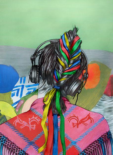 Illustration by Pauliina Mäkelä for Yliopisto magazine, 2014