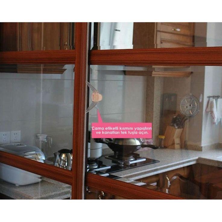 Miny Baby Sürgülü Kapı Pencere Stop Kilidi