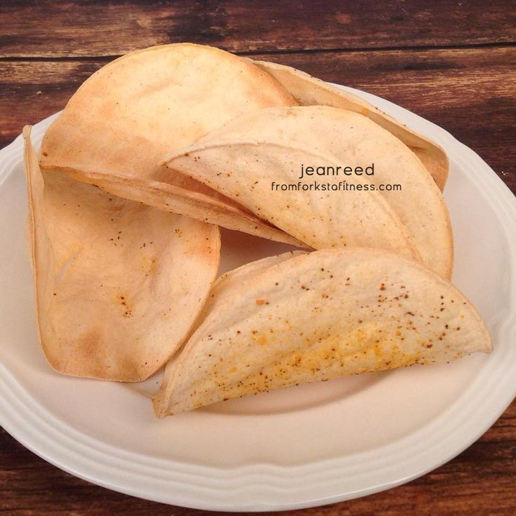 21 Day Fix: Homemade Crunchy Taco Shells | From Forks to Fitness
