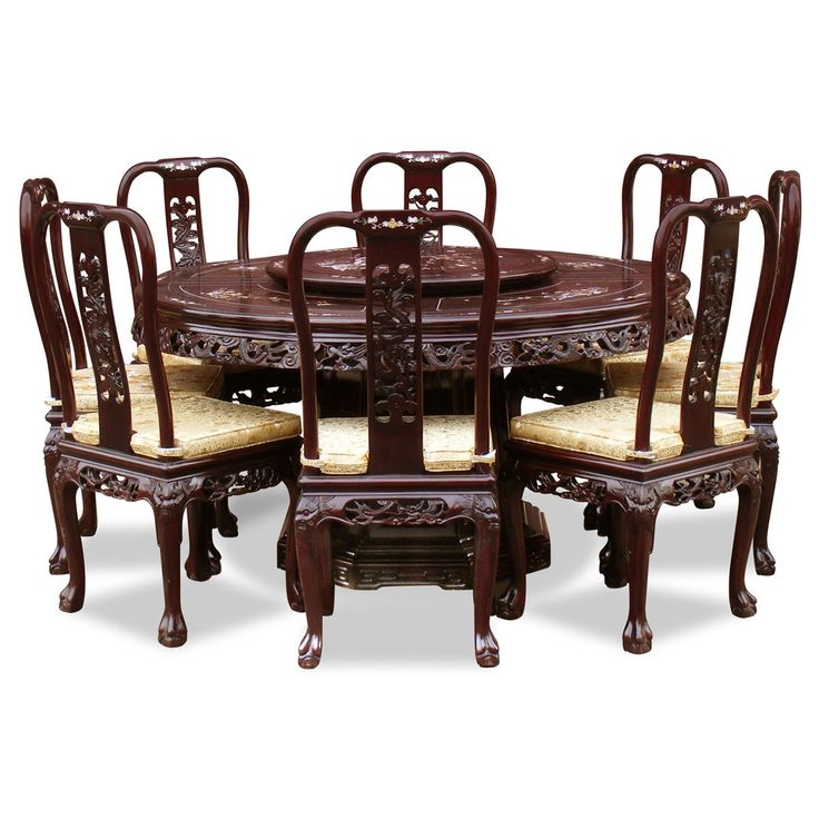 98 best rosewood dining sets images on pinterest dining for Oriental dining table