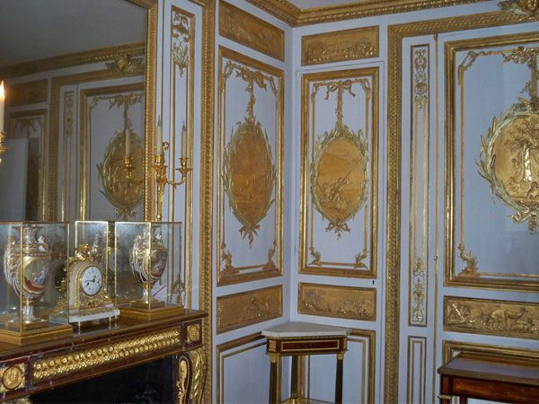 The king 39 s interior apartments the palace of versailles for Decoration 18eme siecle