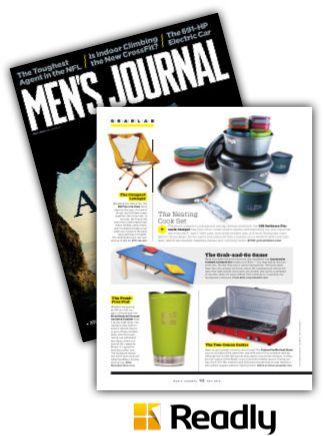 Suggestion about Men's Journal May 2015 page 92