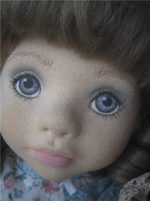 Текстильная кукла от Elke Hutchens / Коллекционные куклы (винил) / Шопик. Продать купить куклу / Бэйбики. Куклы фото. Одежда для кукол