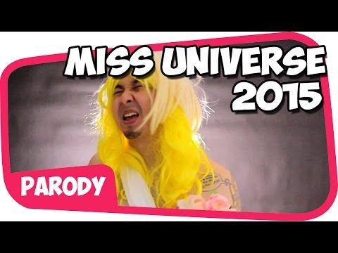 MISS UNIVERSE 2015 PARODI [Kompilasi Instagram]
