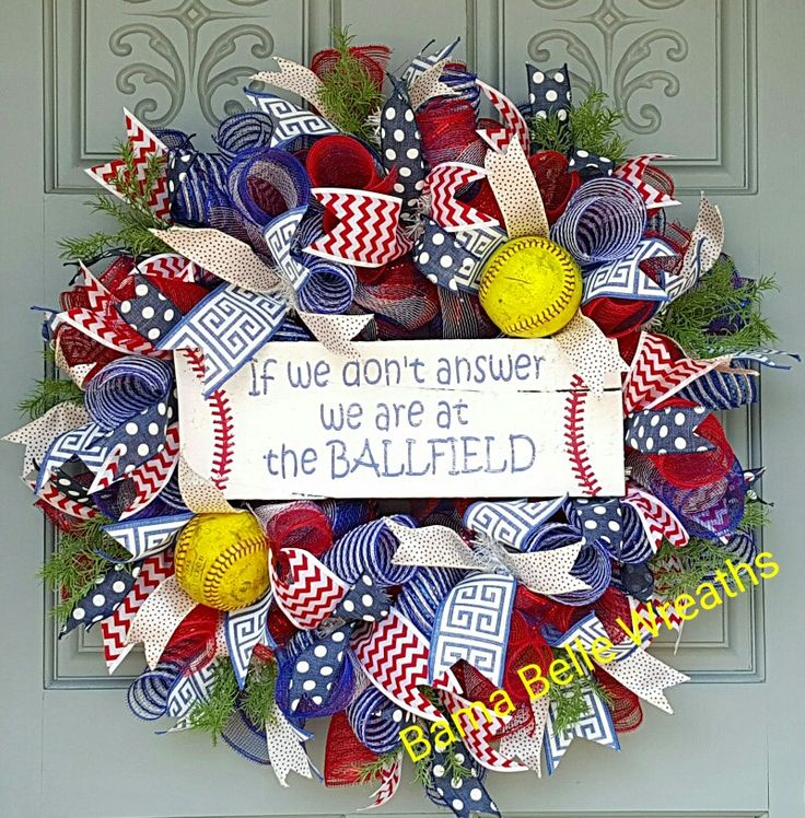baseball wreath - Wreath Design Ideas