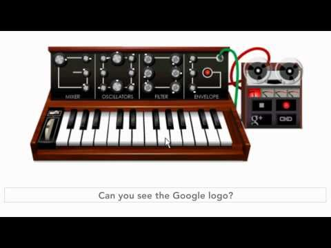 An early inspiration of mine -- Bob Moog -- Today, 5/23/12, he would have been 78 -- Happy Birthday Bob! --Thanks Google!
