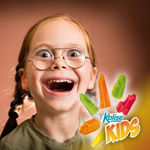 Un estudio confirma que aquellos niños que comen Kriatur-Ices después de las 15h entran en un estado de locura transitoria que les anima a repartir Kalise para todos a todas horas…