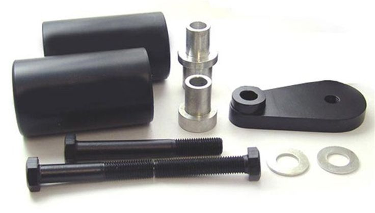 Mad Hornets - Frame Sliders for Yamaha YZF R6 (2003-2005), YZF R6S (2006-2008) same as FS025, $38.99 (http://www.madhornets.com/frame-sliders-for-yamaha-yzf-r6-2003-2005-yzf-r6s-2006-2008-same-as-fs025/)