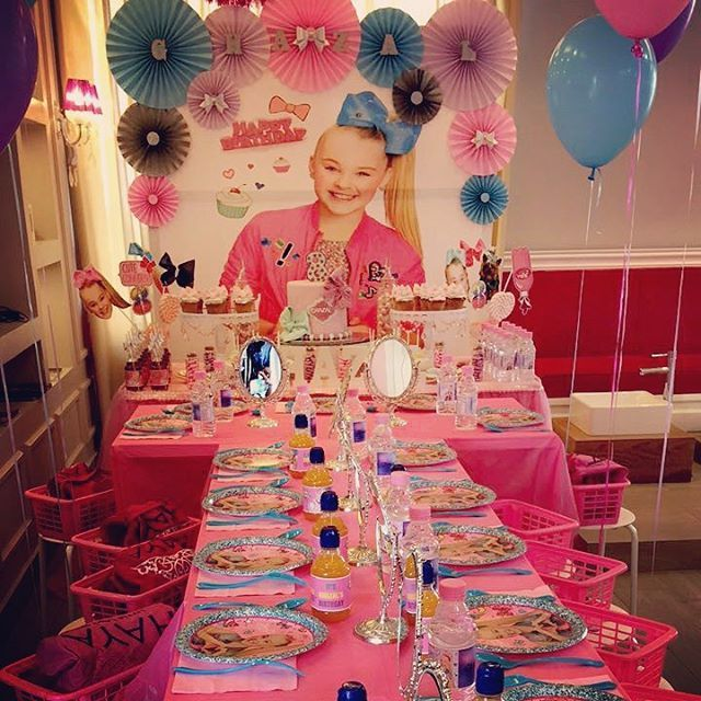 Jojo Siwa Themed Birthday Party Jojosiwa Jojobows