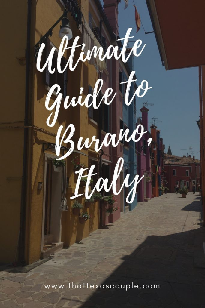 Burano island is the perfect day trip from Venice. This guide will show you how to get to Burano from Venice, and then outline all you need to know to enjoy a day on the island. #burano #venice #italy
