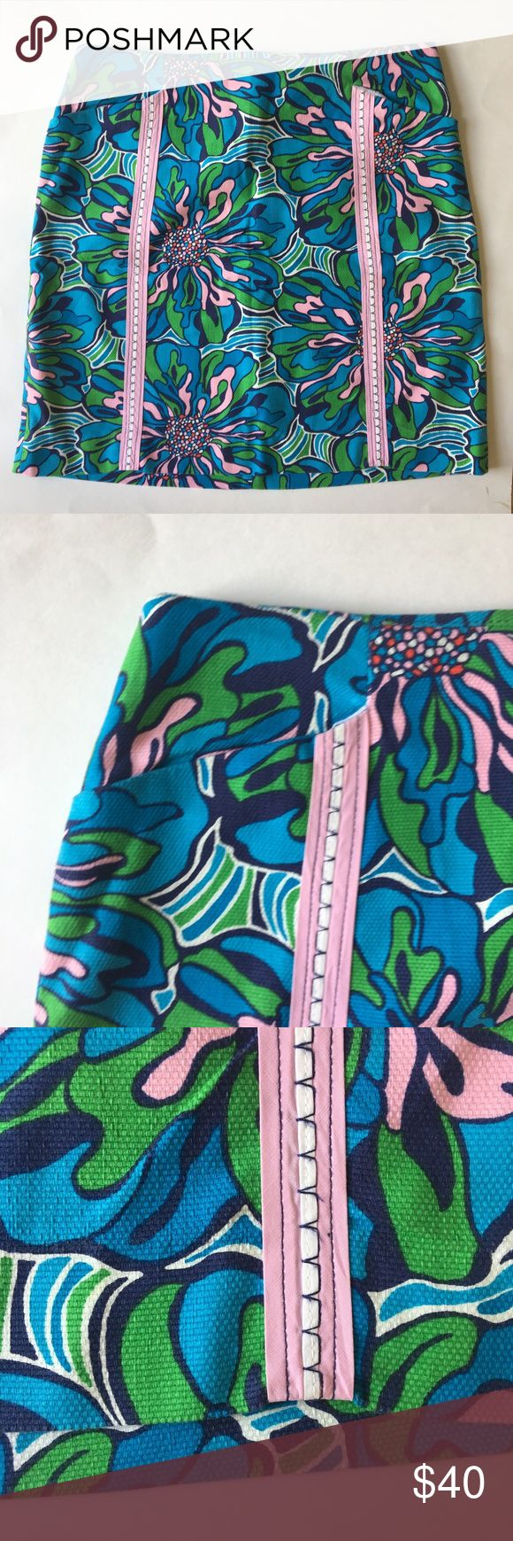 🌸 Lilly Pulitzer Printed Mini 🌸 Adorable skirt by Lilly Pulitzer Lilly Pulitzer Skirts Mini