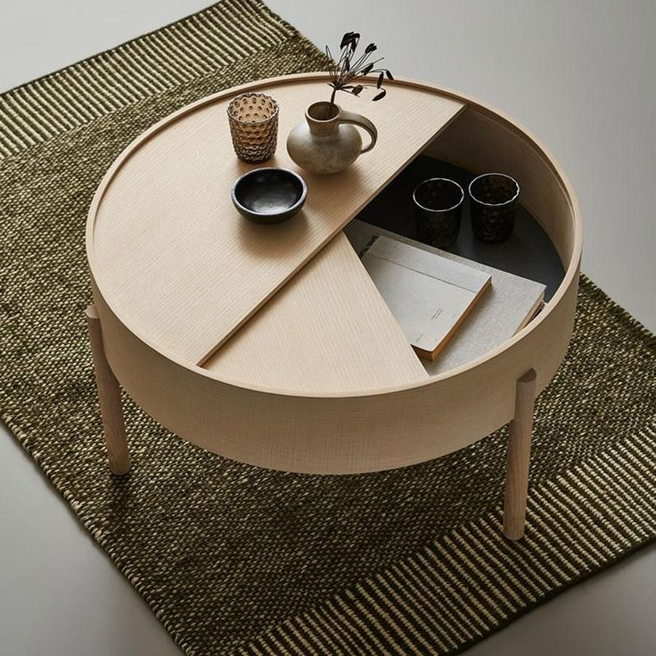 Woud – Arc Coffee Table ARC takes its name from th…