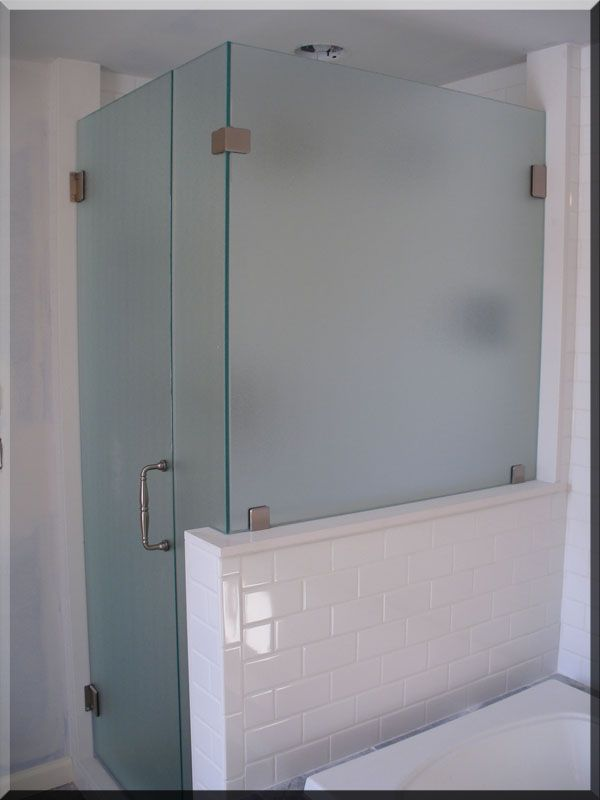 glass shower walls | ... and show you how glass and mirrors can add excitement to your home