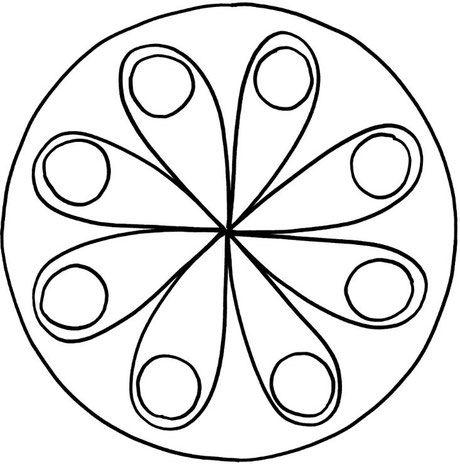 Mandalas zum Ausdrucken und Ausmalen 15