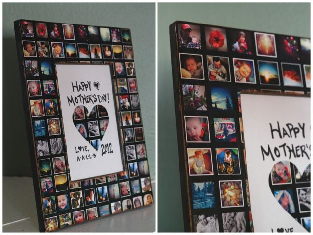 Best 25 photo heart collage ideas on pinterest heart shaped dreams to do monthly diy photo collage picture frame anniversary solutioingenieria Images