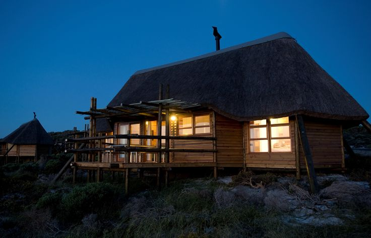 Agulhas restcamp by night at Agulhas National Park South Africa