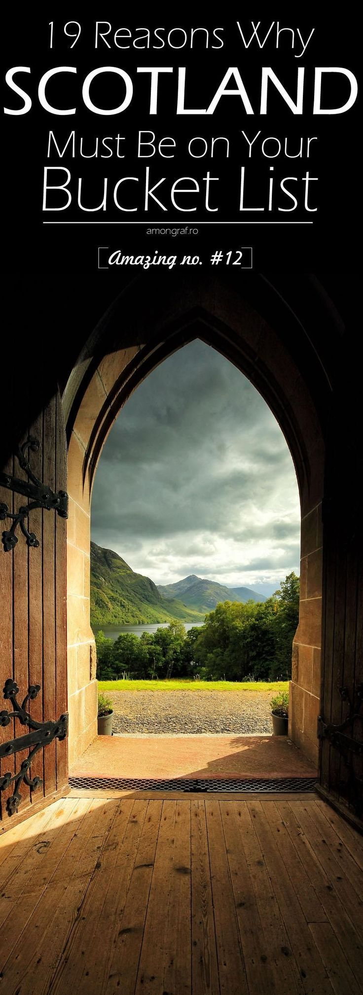 19 Reasons Why Scotland Must Be on Your Bucket List. Amazing no. #12 #Scotland.